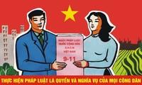 开展2015年越南法律日