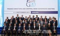 二十国集团承诺推动全球经济步入正轨