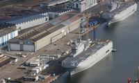 """法国和埃及就购买两艘""""西北风""""级军舰达成协议"""