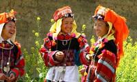 同文岩石高原上倮倮族的独特文化