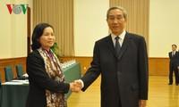 越南祖国阵线代表团对中国进行访问