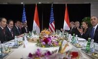 美印尼总统在白宫举行会谈