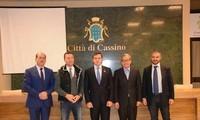 越南推动与意大利各地的合作
