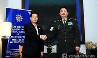 中韩加强军事合作