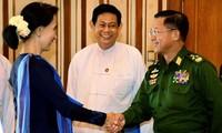 缅甸政府承诺确保选举后的和平稳定