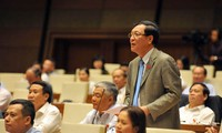 越南13届国会10次会议质询和回答质询活动进入第二天