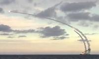 """俄罗斯首次从潜艇发射导弹打击""""伊斯兰国""""目标"""