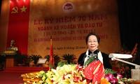 越南计划投资部门在国家发展中占有重要地位
