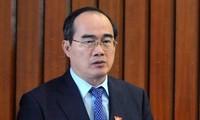 越南祖国阵线中央委员会主席阮善仁致圣诞贺信