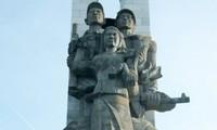 柬埔寨维修越南志愿军纪念碑