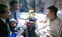 越南最先进的火车正式投入使用