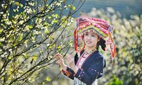山区少数民族同胞的迎春色彩