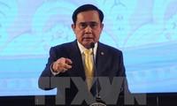 泰国总理巴育呼吁和平解决东海争端
