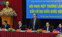 越南第14届国会代表选举第一次协商会议在各地举行