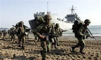 朝鲜军方警告将应对韩美联合军演