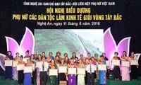 西北地区少数民族妇女经营能手表彰会举行