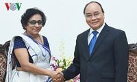 阮春福会见斯里兰卡驻越大使迪萨纳亚克
