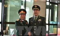 越南高级军事代表团对中国进行正式友好访问