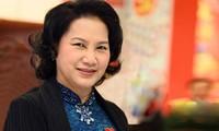 阮氏金银启程对老挝进行正式友好访问