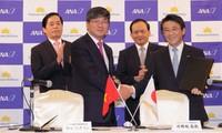 越南航空总公司与日本全日空正式开展联营合作