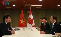 陈大光会见加拿大、澳大利亚等亚太经合组织成员体领导人