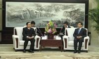 越南祖国阵线和中国全国政协交流经验