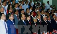 阮春福出席平福省重新建省20周年纪念大会
