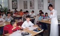 提高海外越南人的越南语教学工作效果