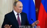 俄总统普京驳斥俄方收集特朗普黑材料的说法
