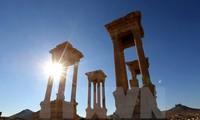 """联合国教科文组织谴责自称""""伊斯兰国""""极端组织破坏叙利亚文化设施"""
