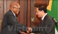 越南驻南非大使递交国书