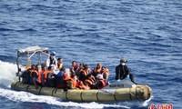 数百名移民在利比亚外海被拦截