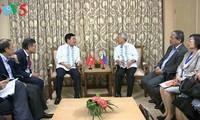 范平明会见菲律宾外长亚赛和印度尼西亚外长蕾特诺