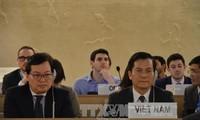越南强调继续为关于保障人权的国际倡议做出积极贡献