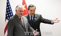 中美商讨两国元首会晤事宜