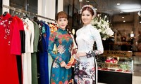第10服装总公司推出传统和现代奥黛时装款式