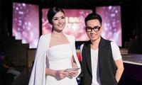青年时装设计师河维受邀参加在伦敦的时装表演