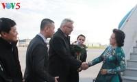 阮氏金银对捷克进行正式访问