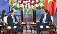 将越南-新西兰关系推上新高度