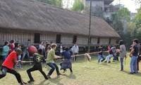 越南民族学博物馆举行多项民间娱乐活动
