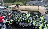 """美国开始运送""""萨德""""设备到韩国部署地"""