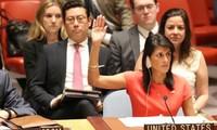 朝鲜就联合国安理会通过新制裁决议做出反应