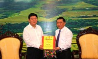 越南河江省与中国广西百色市开展边境劳务管理合作
