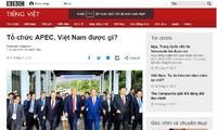 APEC 2017:国际舆论高度评价东道主越南的贡献和引领作用