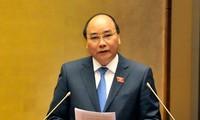 越南选民对阮春福总理接受国会代表质询部分予以高度评价