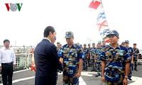 集中建设革命、正规、精锐和现代化的越南海警力量