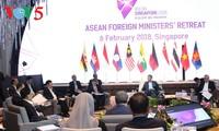 东盟外长非正式会议在新加坡召开