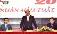 阮春福:要有效组织与北部工人的对话工作