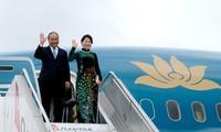 阮春福抵达悉尼出席东盟-澳大利亚特别峰会