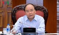 阮春福主持越南-欧盟贸易合作会议